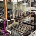 Weaver's loom. Koh Dach, Cambodia