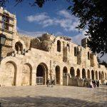 Theatre of Dionysus Eleuthereus built in 3rd Cent. BC
