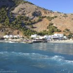 Agia Roumeli from the ferry.