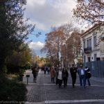 Holiday strolling in Athens, Greece