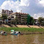 The riverbank in Phnom Penh