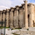 Library of Hadrian in Athens, Greece