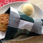 Scones and clotted cream.