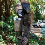 Sculpture in Kirstenbosch Gardens
