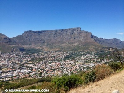 Table Mountain conquered!
