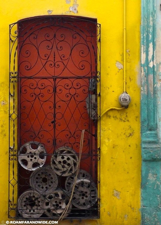 Door in Merida