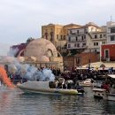 A Religious Celebration: Theophany in Chania, Crete, Greece