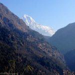 View of Annapurna South.