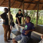 Quick break in Etosha National Park