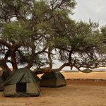 Campground in Namibia