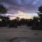 Camping. See any honey badgers?