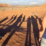 African sun makes good shadows
