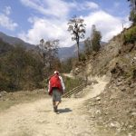 Trekking to Ulleri