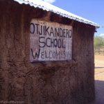 Himba schoolhouse