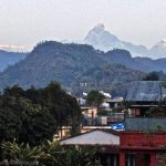 View from Pokhara, Nepal