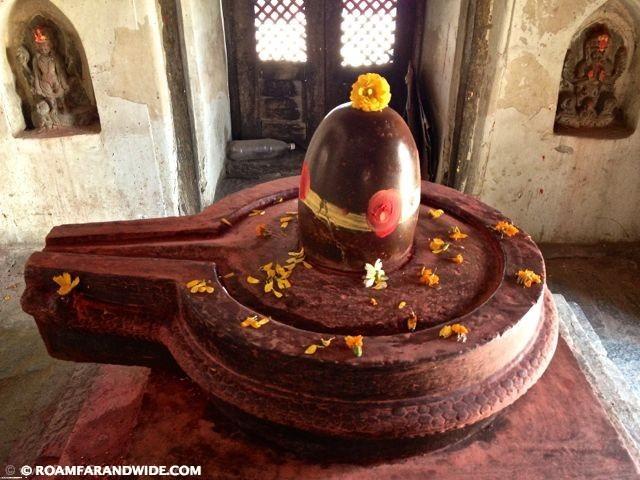 Shiva Linga  a phallic figure  Pashupatinath Shiva Linga