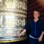 Big prayer wheel