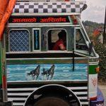 Truck in Pokhara, Nepal