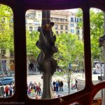 From inside Casa Batlló