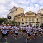 Runners in Barcelona