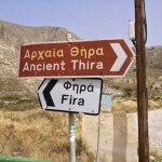 Hiking to Ancient Thera