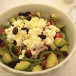 Cretan Salad. Mmmm.