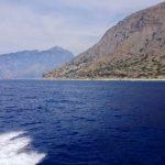 Ferry ride to Agia Roumeli