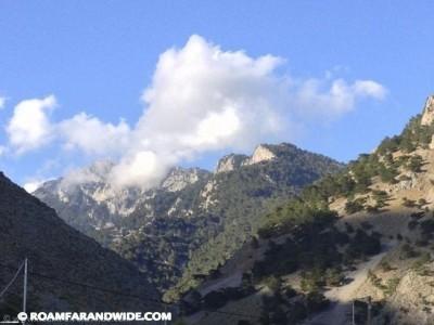Clouds over Agia Roumeli