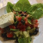 Fresh salad at Rousio's