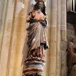 Inside Regensburg Dom (Cathedral)