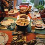 Pilgrim's dinner