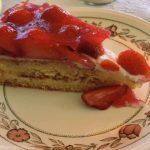 mmm Strawberry cake.