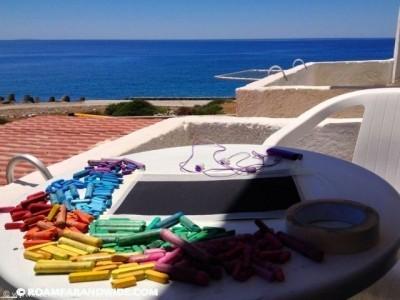 Best office ever! Agia Roumeli, Crete