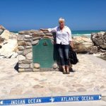 At the southernmost point of Africa!