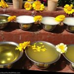 Temple offering in Kathmandu