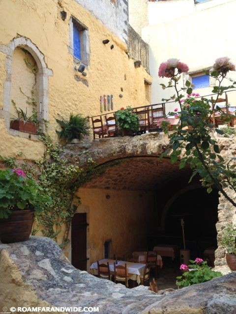 Photo of a restaurant in Chania's Old Town