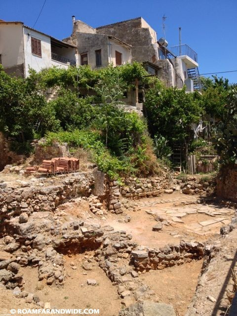 Archeology in Chania's Old Town