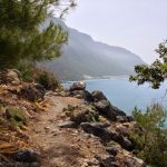 Walking from Agia Roumeli to Agios Pavlos
