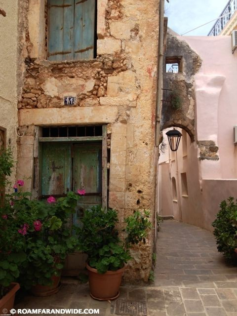 Chania's old town
