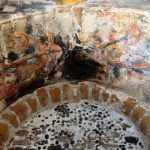 The ceiling in Agios Pavlos Chapel