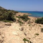 Walking to Agios Ioannis Beach