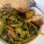 Hortas - wild greens with olive oil
