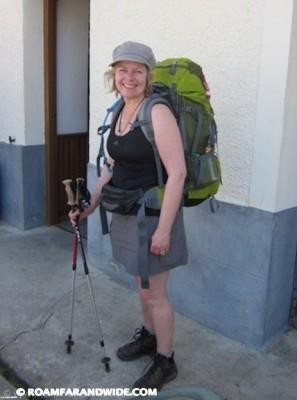 Pilgrim Resi on the Camino