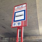 Bus stop in Bratislava
