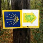 Marker for the Camino de Santiago!