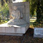 Sculpture in Lenti, Hungary