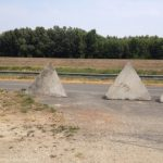 Pyramid road barriers