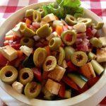 Best salad yet at Hotel Denis