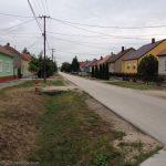Entering Pusztasomorja
