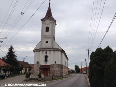 Pusztasomorja church